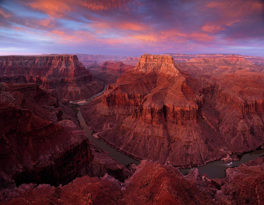 American Southwest Photograph - Sunrise Over The Confluence by Adam Schallau