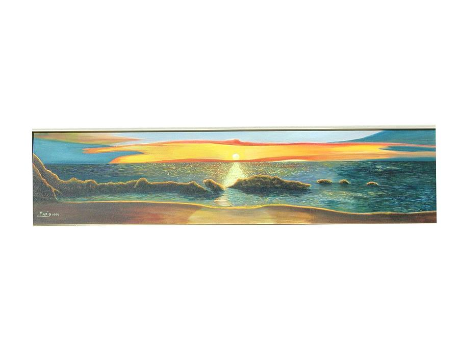 Sunrise Painting by Rafael Marin