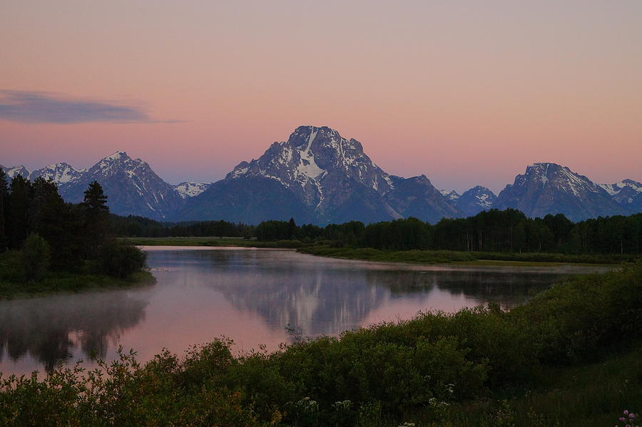 Grand Teton National Park Photograph - Sunrise Reflections by Beth Collins
