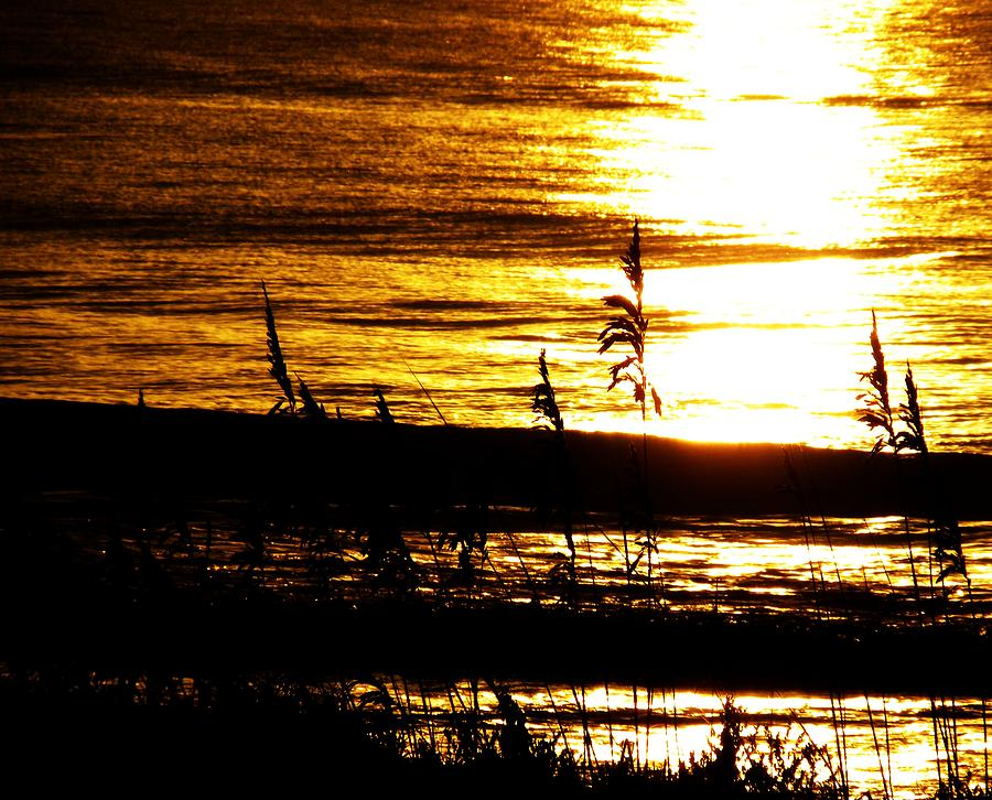 Cocoa Beach 8/7/10 Photograph - Sunrise Reflections by Kim Zwick