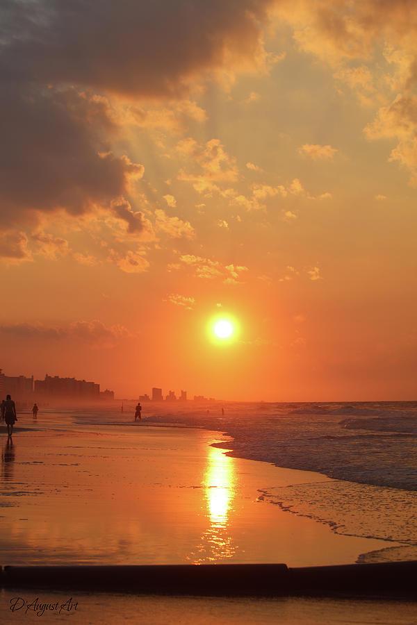 Sunrise Reflections South Carolina Photograph