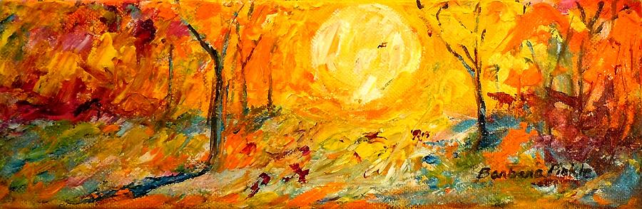 Sunrise Painting - Sunrise Serenade by Barbara Pirkle