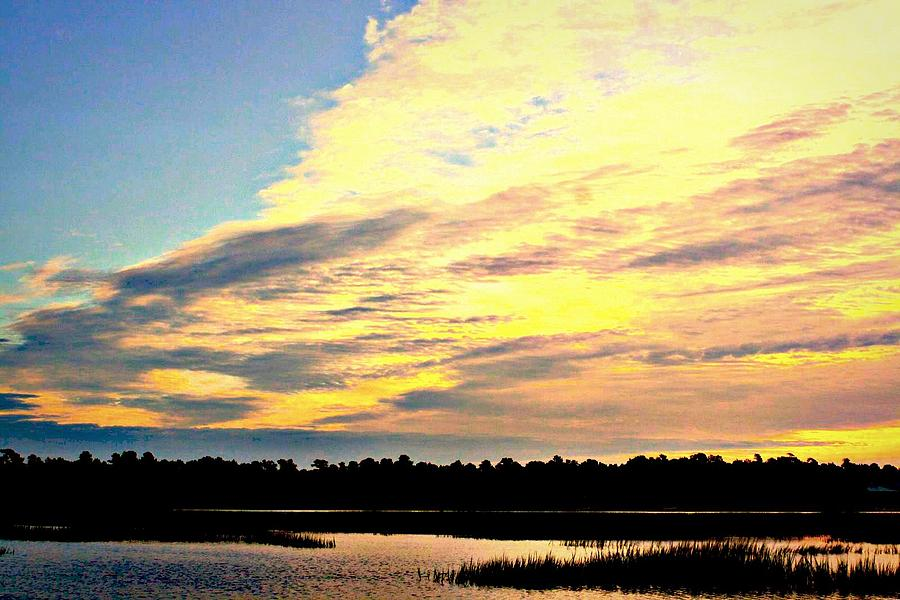 South Carolina Photograph - Sunrise Solitude by Jill Tennison