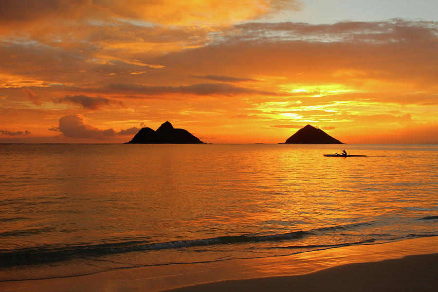 Hawaii Photograph - Sunrise Solo by Brian Governale
