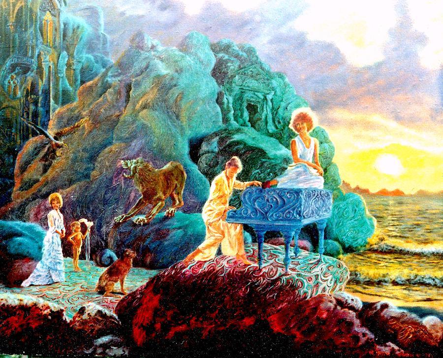Henrykgorecki Painting - Sunrise Sonata by Henryk Gorecki