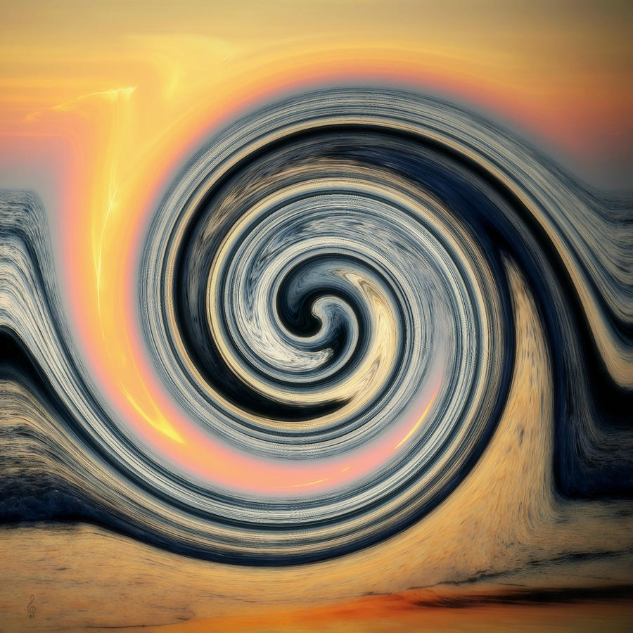 Sunrise Swirl by Treble Stigen