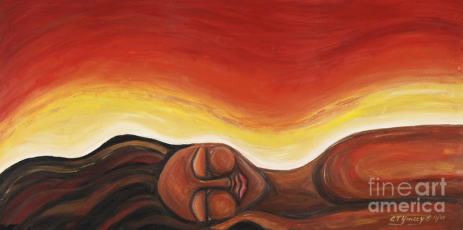Tiffany Yancey Painting - Sunrise by Tiffany Yancey