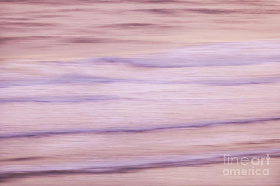 Ocean Photograph - Sunrise Waves 3 by Elena Elisseeva