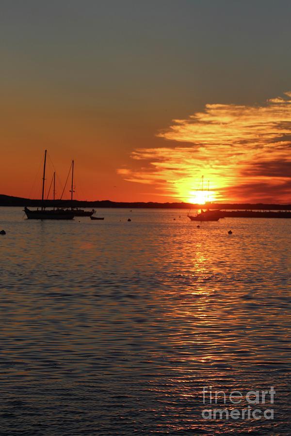 Suns Up Provincetown Pier 3 Photograph by Gregory E Dean