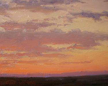 Sunset   Painting by Don Ward