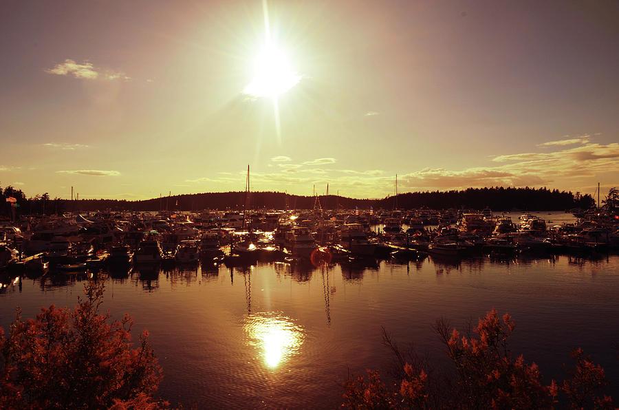 Sunset @ Roche Harbor Photograph
