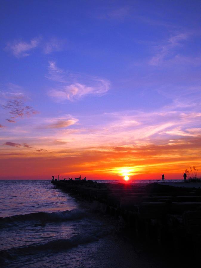Digital Photograph - Sunset 04 05693 by Richard Porter