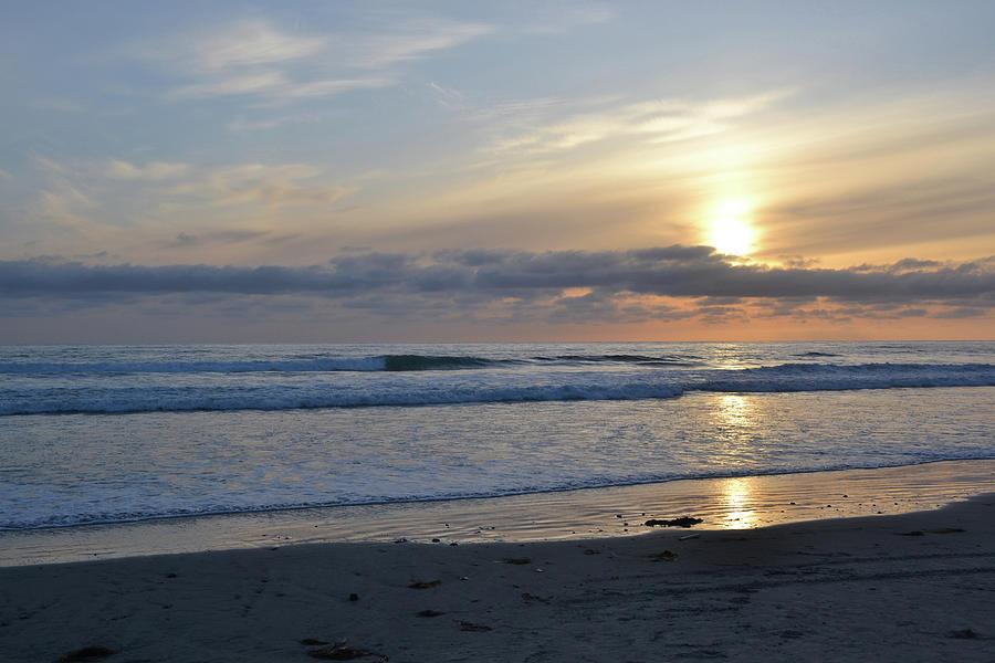 Sunset Photograph - Sunset 1 by D Patrick Miller