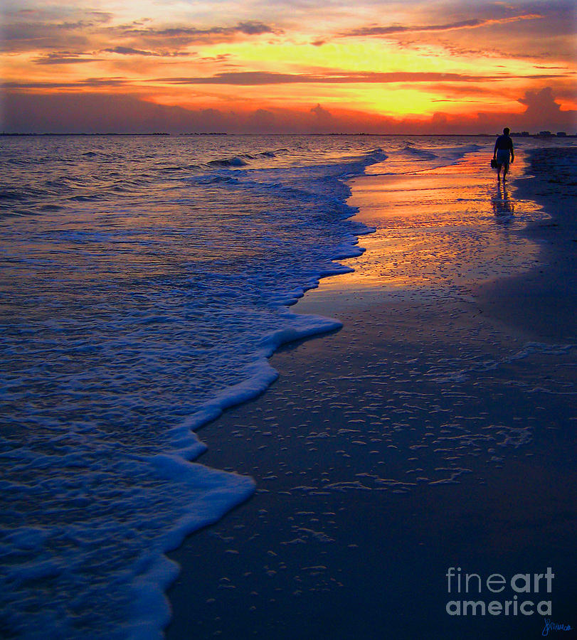 Sunset Photograph - Sunset 1 by Jeff Breiman