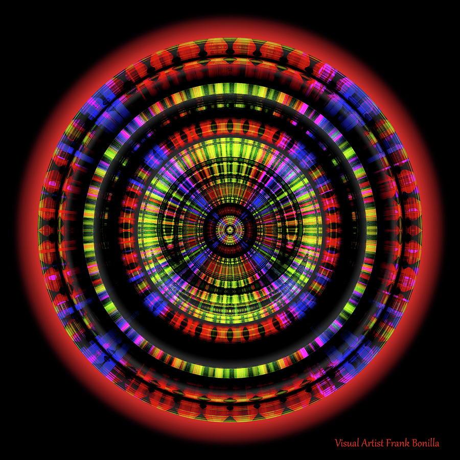 Digital Digital Art - Sunset 10, Series II by Frank Bonilla