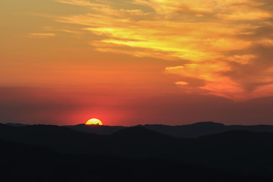 Sunset Photograph - Sunset-2 by Fabio Giannini