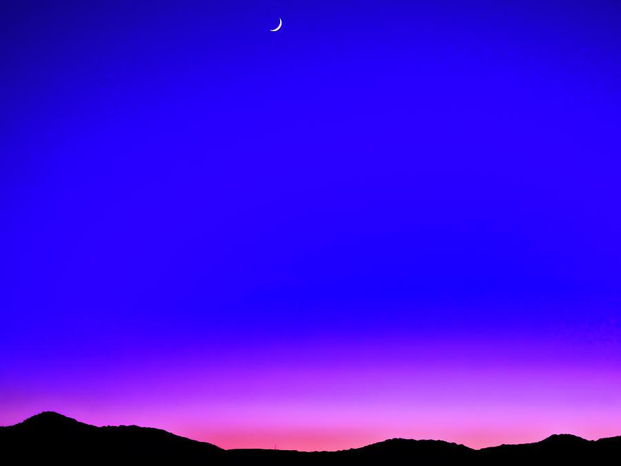 Sunset 2 On Autumn Equinox Photograph