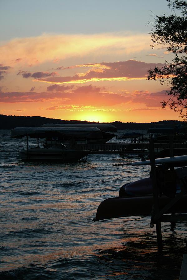 Sunset 2 Skaneateles Lake Ny Photograph By Jonathan Stone