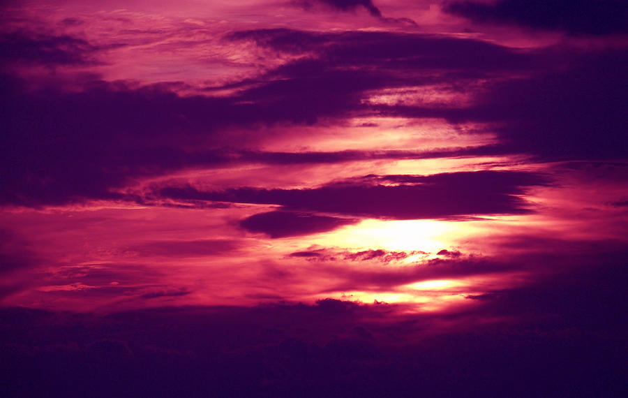 Summer Photograph - Sunset 4 by Evelyn Patrick
