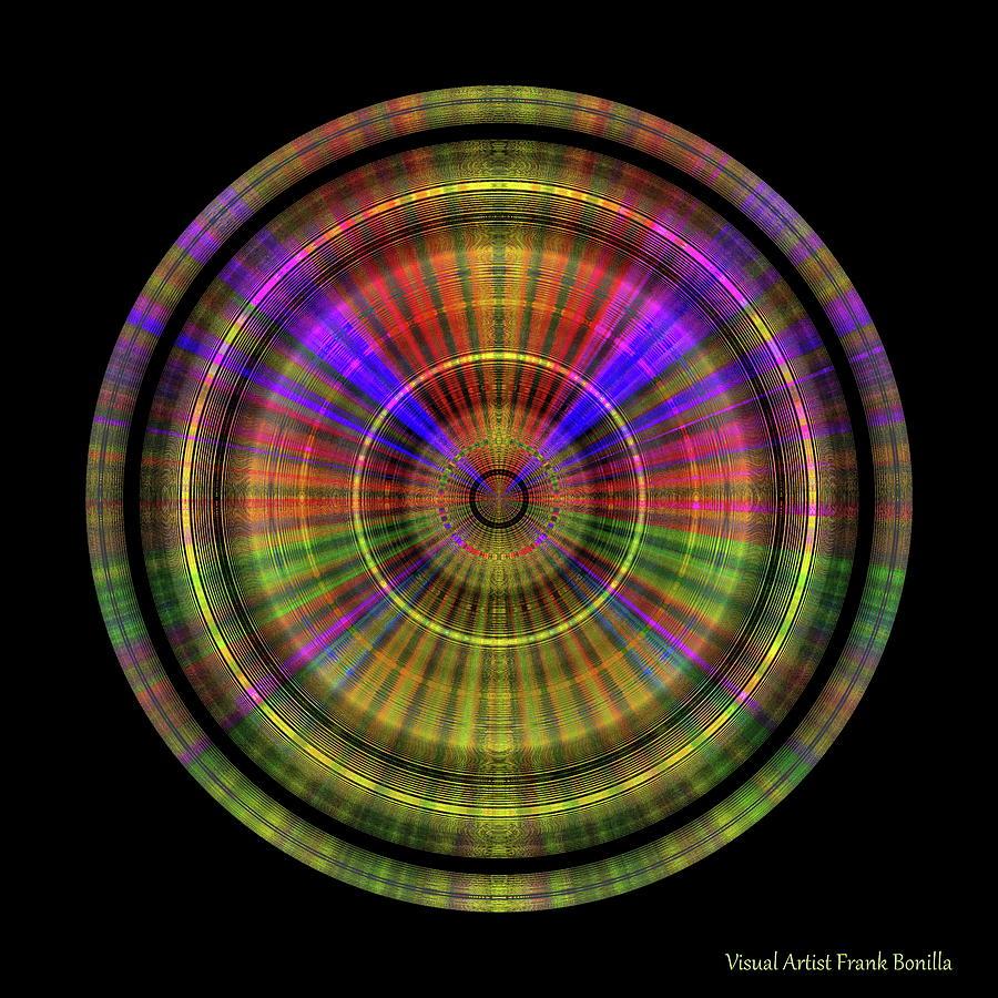 Digital Digital Art - Sunset 4, Series II by Frank Bonilla