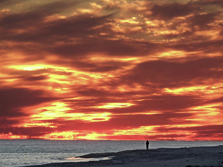 Sunset Photograph - Sunset Afterglow by Larry Roby