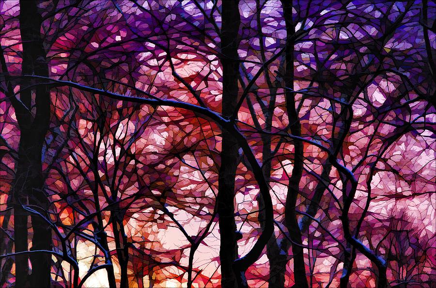 Sunset Digital Art - Sunset And Early Evening Nyc by Robert Ullmann