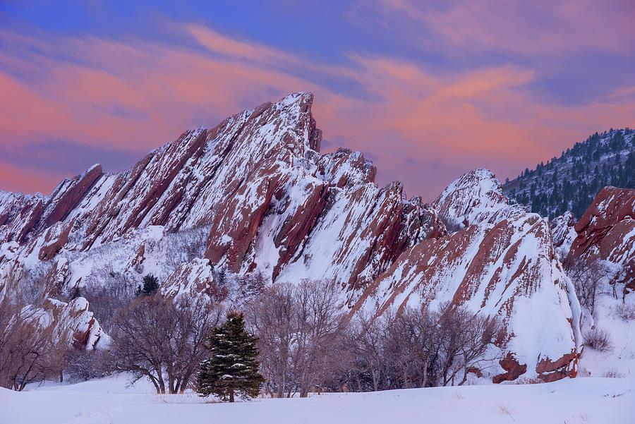 Sunset At Arrowhead Photograph