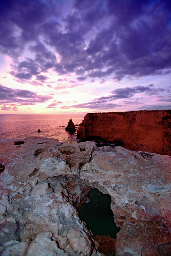Caribbean Photograph - Sunset At Cabo Rojo by George Oze
