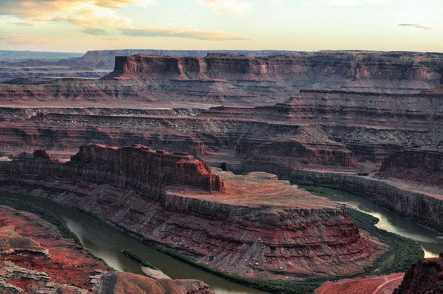 Sunset At Dead Horse Point State Park - Utah Photograph