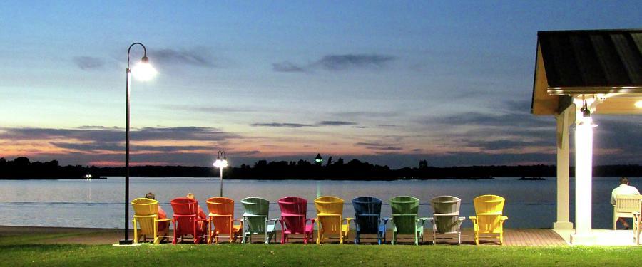 Sunset At Frink Park Clayton Photograph