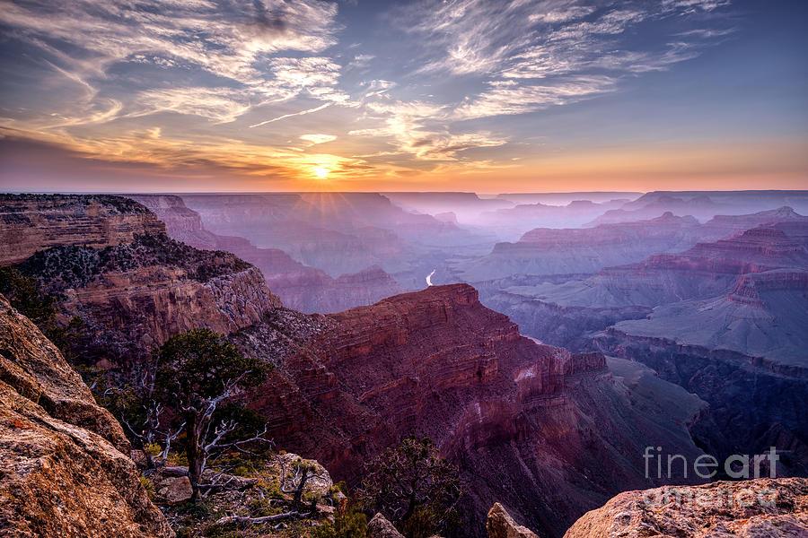 Sunset At Grand Canyon Photograph