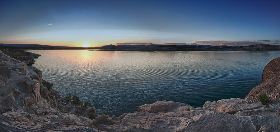 Sunset At Lake Powell by Andreas Freund