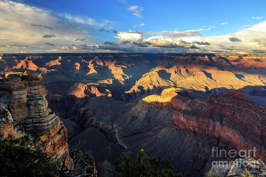 Sunset at Mather's Point by Franz Zarda