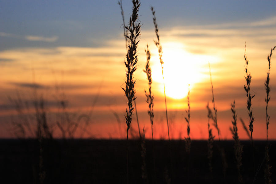 Oklahoma Photograph - Sunset At Monument Hill by Toni Hopper