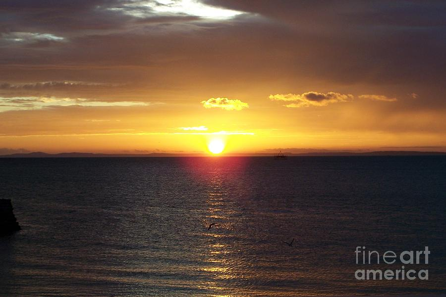 Sunset Photograph - Sunset At Pacific Shores by Dindin Coscolluela