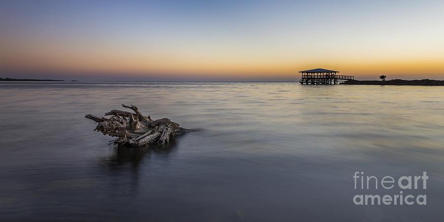 Cape San Blas Photograph - Sunset At Port St. Joe by Twenty Two North Photography