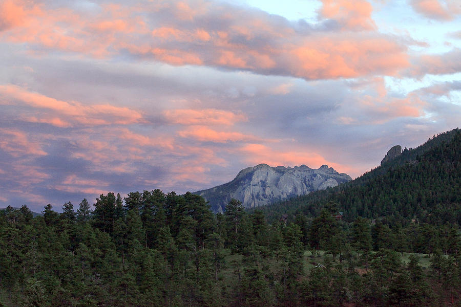 Sunset At Rocky Mountain Park.co Photograph by James Steele