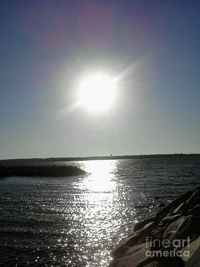 Sun Photograph - Sunset At Solomons Island Md by Jimmy Clark