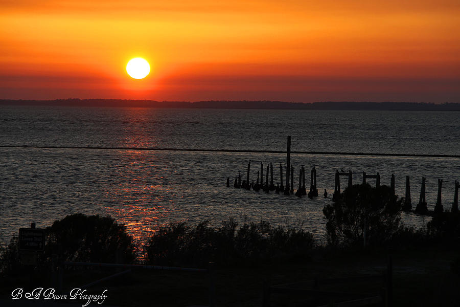 Sunset Photograph - Sunset At St.marks Nwf by Barbara Bowen