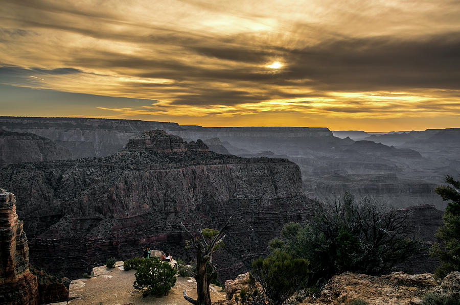 Sunset At The Grand Canyon by Jaime Mercado