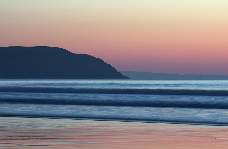 Sunset at Woolacombe by Pete Hemington