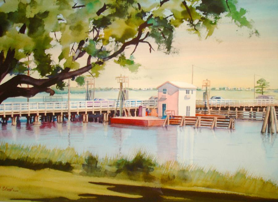 Bridge Digital Art - Sunset Beach Bridge by Richard Staat