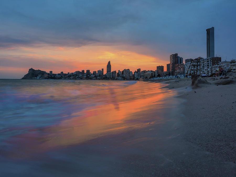 Beach Photograph - Sunset Beach by David Rocaberti