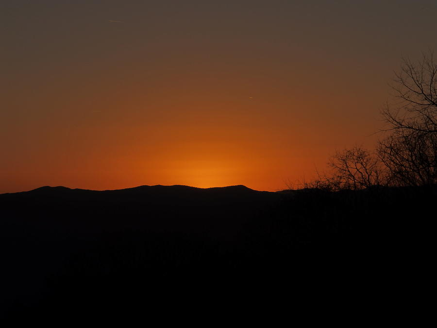 Sunset Buncombe County NC by Robert Worth