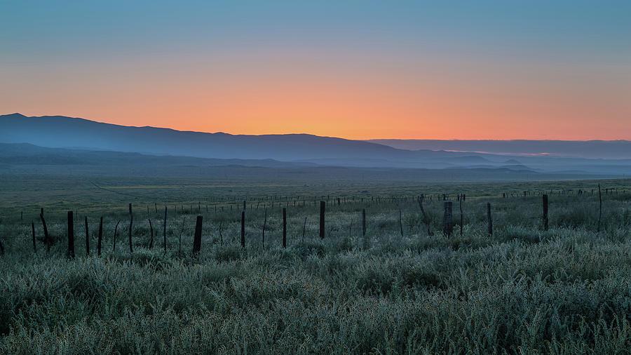Carrizo Plain Photograph - Sunset, Carrizo Plain by Joseph Smith