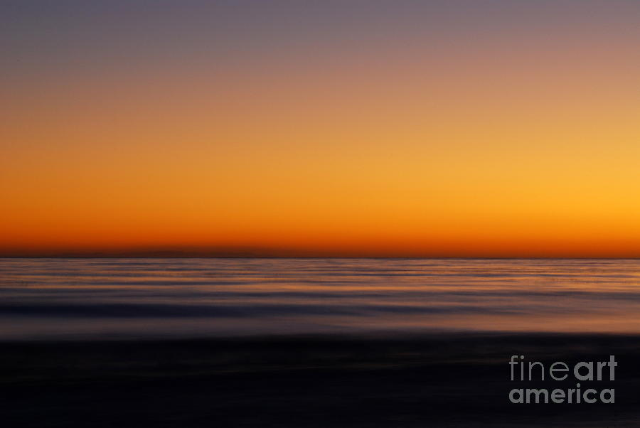 Seascape Photograph - Sunset by Catherine Lau
