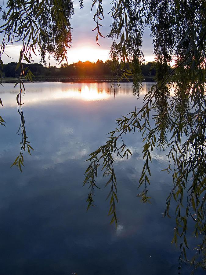 Nature Photograph - Sunset by Daniel Csoka