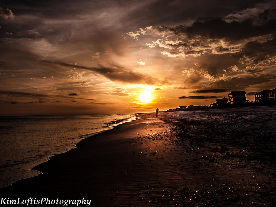 Sun Photograph - Sunset Delight  by Kim Loftis