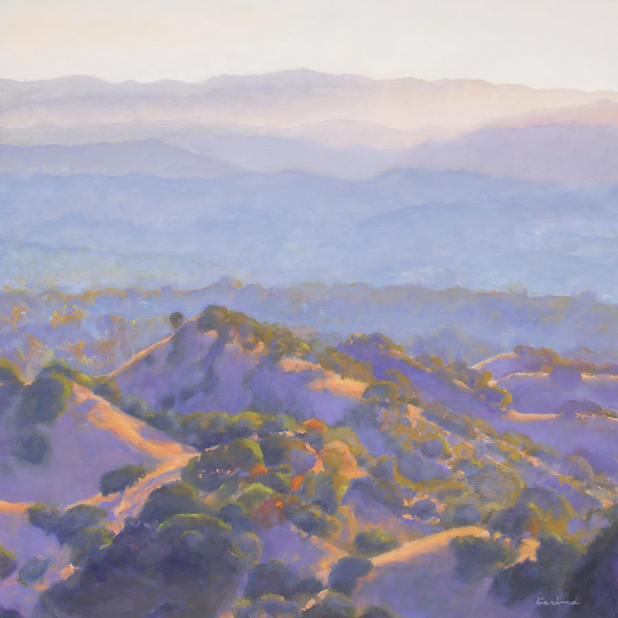 Sunset Diablo Foothills by Kerima Swain