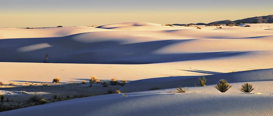 White Sands Photograph - Sunset Dunes Two by Paul Basile